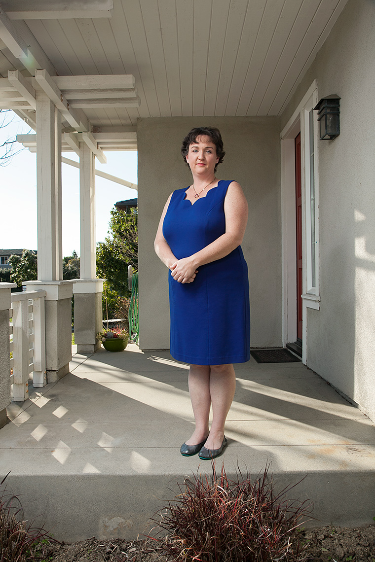 KATIE PORTER | Photographed at her home in Irvine, CA